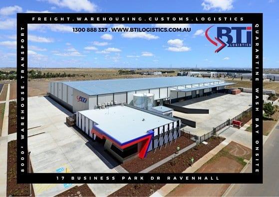 BTi Melbourne Warehouse