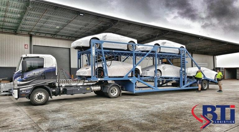 BTi Logistics Car Carrier