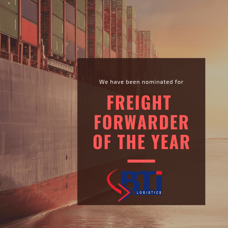 Freight forwarder of the year
